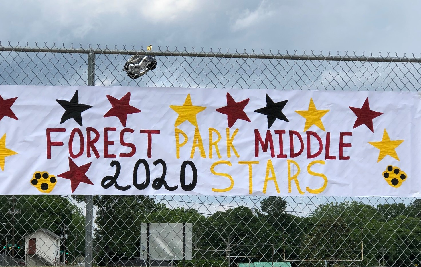 2020 Parade of Stars Sign
